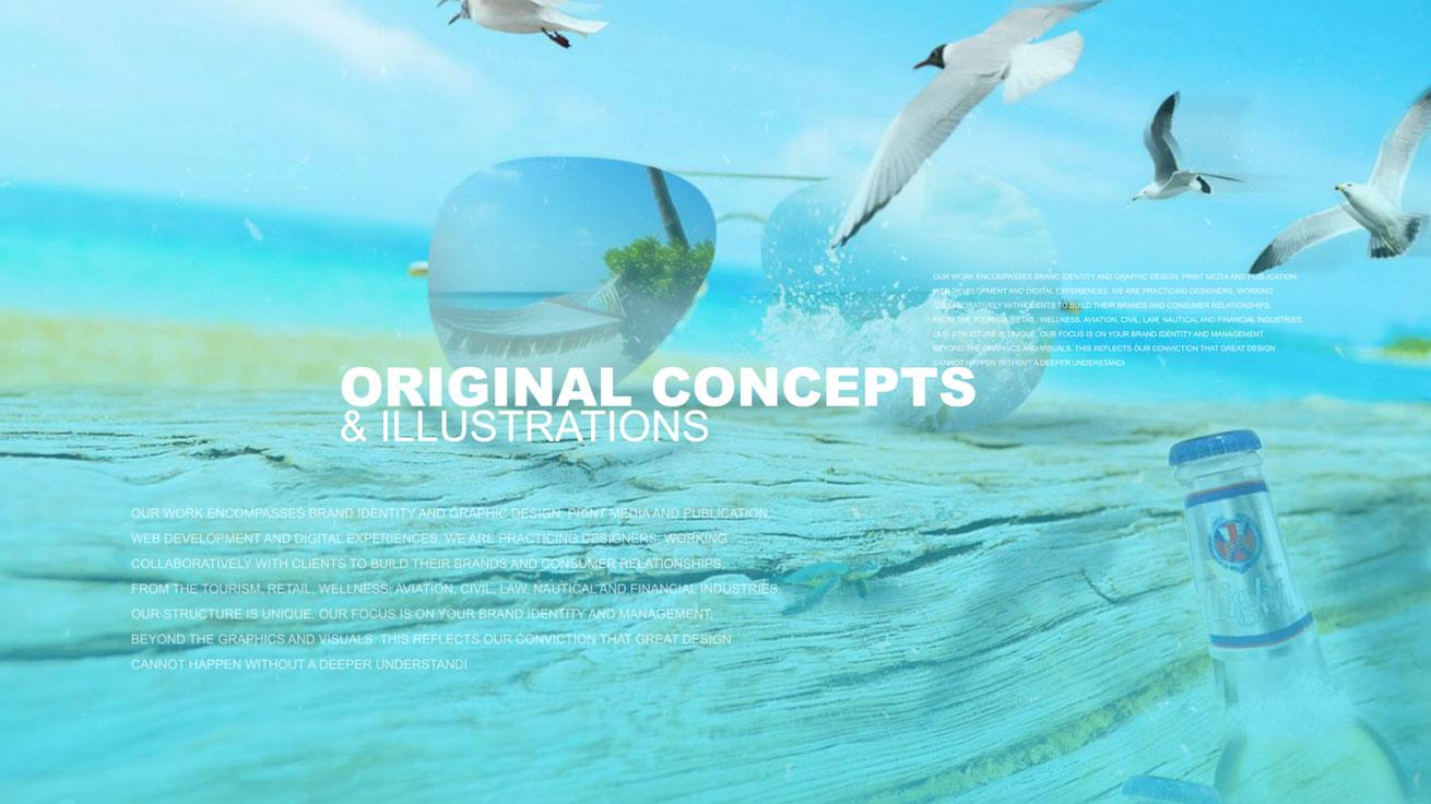 Beach Seagulls Relaxing Paradise The Bahamian Studio Graphic Design Flyers Logos Printing Marketing Nassau Bahamas