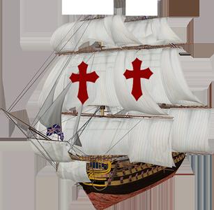 Pirate Ship Santa Maria The Bahamas Caribbean Vector Graphic Image Branding The Bahamian Studio Graphic Design Flyers Logos Printing Marketing Nassau Bahamas